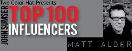 Matt Alder Top 100 Influencers